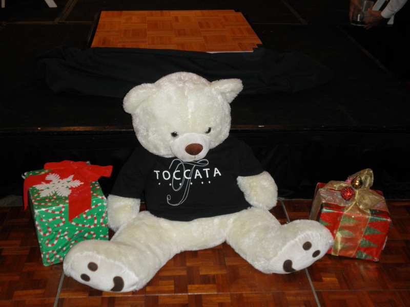 The Toccata Christmas Bear