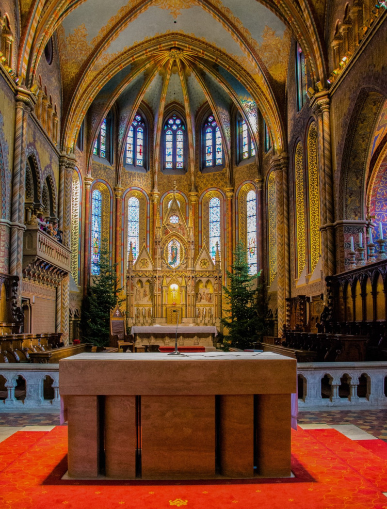 Altar of Mathias Church, Budapest